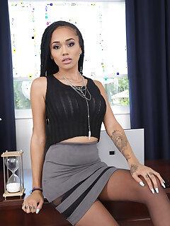 Black Secretary Pics